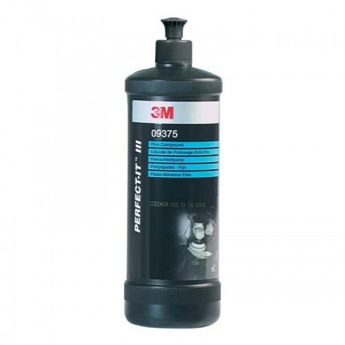 3M 9375 Perfect-it III Fine Compound ( İnce Sıvı Pasta )1 lt. ( ESKİ AMBALAJ )