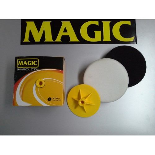 Magic 150mm 3lü Pasta ve Cila Süngeri