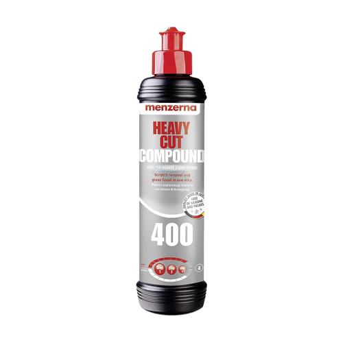 Menzerna 400 Heavy Cut Compound  - Çizik Çıkarıcı Pasta 250ml