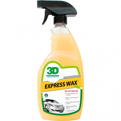 3D Express Wax - Hızlı Sıvı Film Cila 0.71Lt - Made in USA