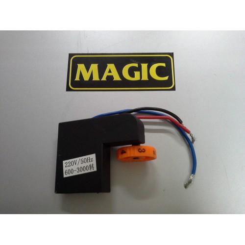 Magic Polisaj Makinası Devir Ayar Düğmesi 6 Devirli