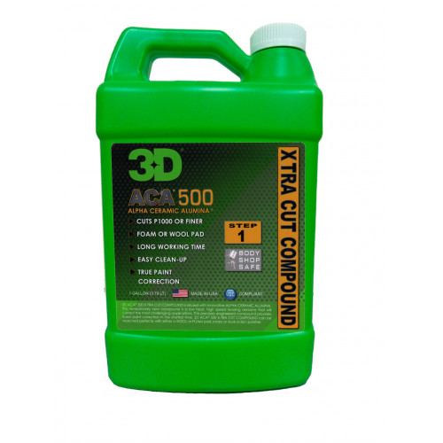 3D HD 500 Aca X-tra Cut Compound Pasta 3,79 lt