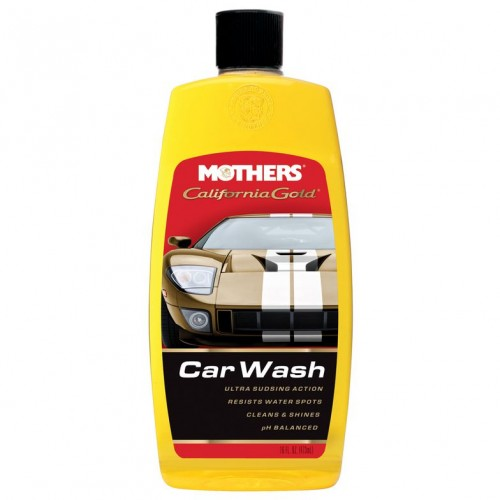 Mothers CaliforniaGold Carnauba Wash & Wax 0.47 Lt