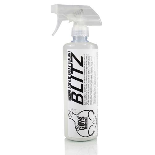 Chemical Guys BLITZ HI-Shine Acrylic Spray Sealant - Akrilik Yüksek parlaklık veren Uzun Ömürlü Boya Koruma   473 ml