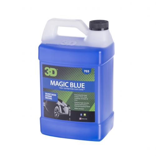 3D Magic Blue Lastik Parlatıcı 3.78lt