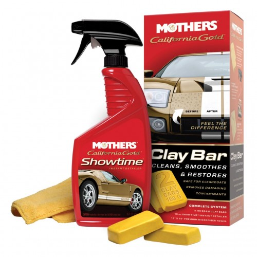 Mothers CaliforniaGold Clay Set ( Yüzey Temizleme Bakım Kiti )