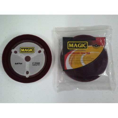 Magic 180mm Bordo Pasta Süngeri