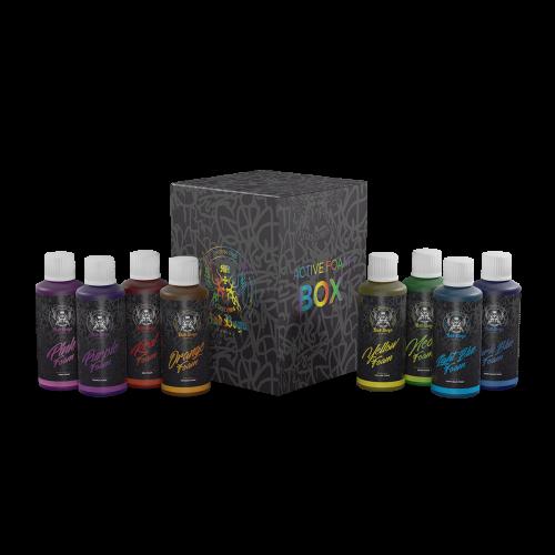 BadBoys Colored Show Foam Box – 9 Adet 100ml Renkli Köpüklü Şampuan Seti 100ml