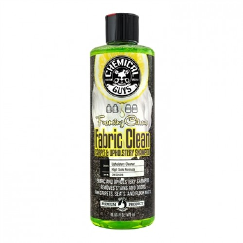 Chemical Guys Fabric Clean - Halı Kumaş Döşeme Temizlik Şampuanı + Koku Giderici 473ml