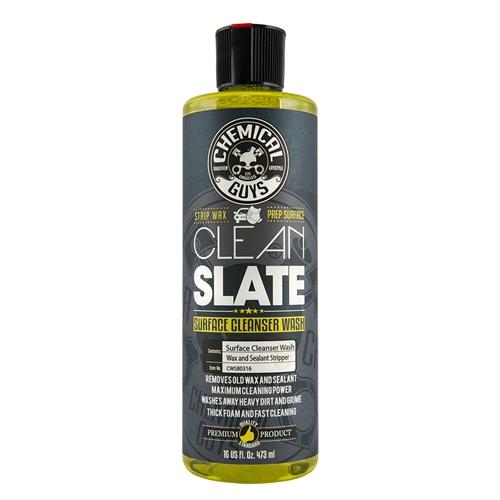 Chemical Guys Clean Slate – Wax & Cila Sökücü Yüzey Hazırlama Şampuanı -  473 ml.