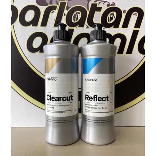 CarPro ClearCut + Reflect - Boya Yenileme Seti - 500 ml 2 Adet Ürün
