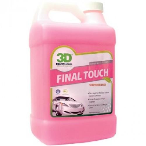 3D Final Touch -  Pratik Sıvı Cila -Yüzey Temizleme Sıvısı 3.78 Lt -  Made in USA - ( BÖLÜNMÜŞ ÜRÜN )