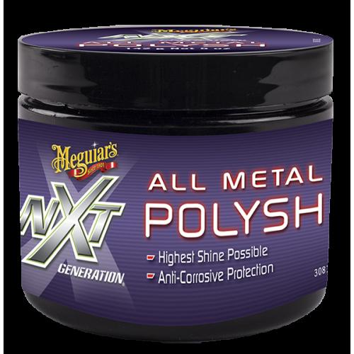 Meguiars Nxt All Metal Polysh - Metal Yüzey Parlatıcı 142gr