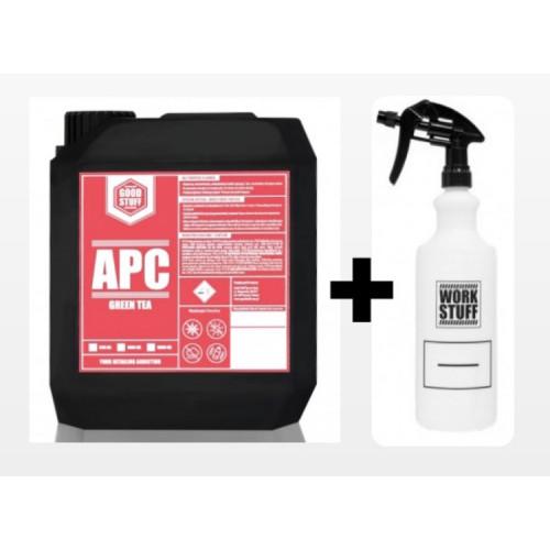 GOOD STUFF APC Green Tea  - Yeşil Çay Kokulu Çok Amaçlı Genel Temizlik - 5 Litre