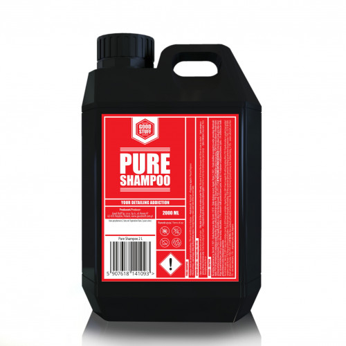 Good Stuff Pure Shampoo – Ph Nötr Bol Köpüklü Araç Yıkama Şampuanı - 2 Litre