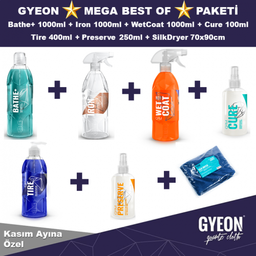 GYEON MEGA BEST OF PAKETİ