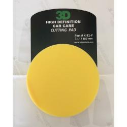 3D 180mm Hıgh Definition Cutting  Pad ( Pasta Süngeri ) - Made in U.S.A