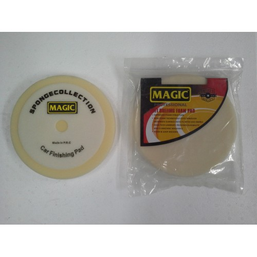Magic 200mm Beyaz Wax ve Cila Süngeri