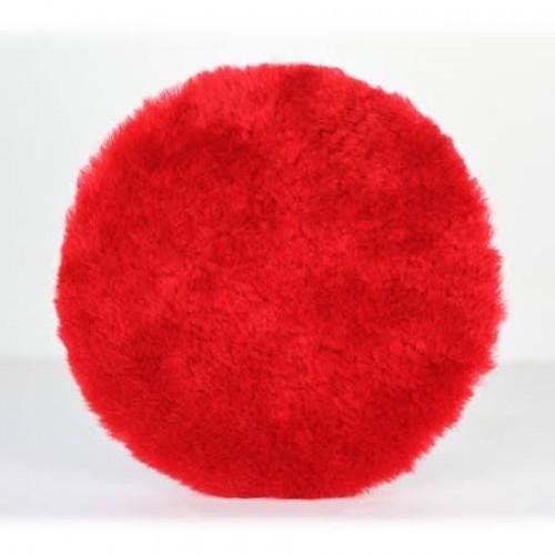 UFS Red Wool Pad & Kırmızı Koyun Yünü Keçe - ( Orbital + Rotary ) ÇAP : 16cm