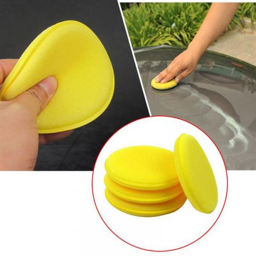 Magic 10 cm Sarı Cila ve Wax El Uygulama Pedi - ( 1 Adet )