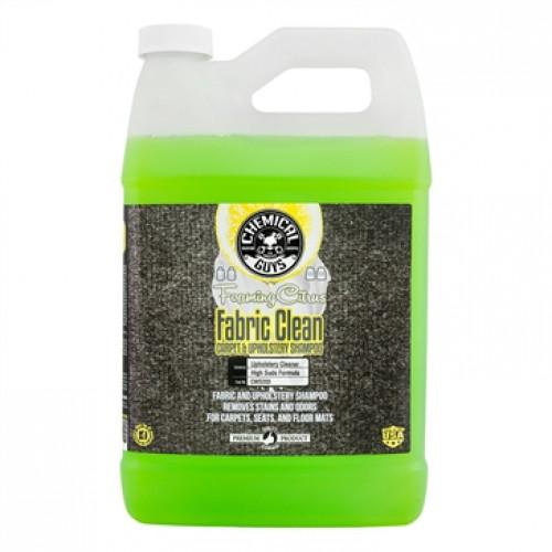 Chemical Guys Fabric Clean - Halı Kumaş Döşeme Temizlik Şampuanı + Koku Giderici 946 ml **BÖLÜNMÜŞ ÜRÜN**