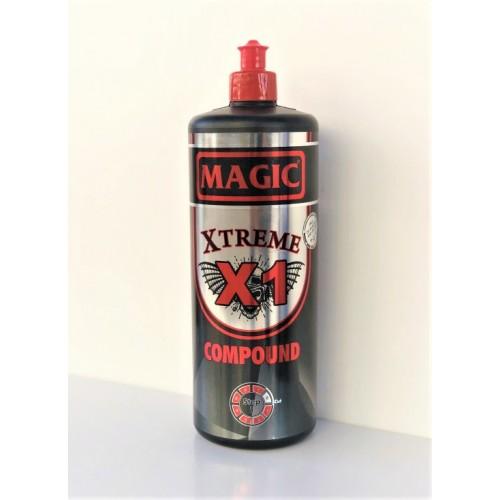 Magic X1 Xtreme Super Heavy Cut Compound - Ağır Çizik Giderici Pasta 1 Litre