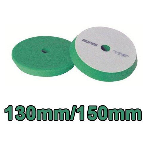 Rupes Yeşil Pasta Süngeri 130/150 mm - 25 mm Kalınlık  ( Rotary ve Orbitaln Makineler için Uygundur.)