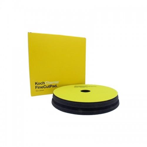Koch Chemie FC - İnce Çizik Alıcı Pasta Sünger Pad 150mm*23mm ( SARI SERİ )
