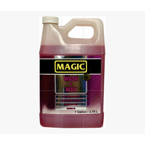 Magic Wash & Wax - Cilalı Araç Yıkama Şampuanı 1/128 - 3,78 Litre