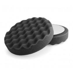 Magic 150mm SİYAH Waffle Wax ve Cila Süngeri ( Orbital + Rotary )