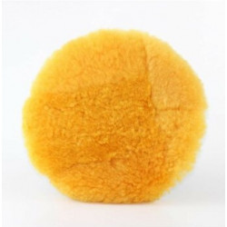 Ufs  160 mm PATCHWORK Sarı Domestic Pasta Keçesi - Tüy Boyu 25 mm