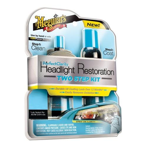 MeguiarsPerfect Clarity 2 Step Headlight Restoration Kit  - 2 Adımlı Far Temizleme Kiti