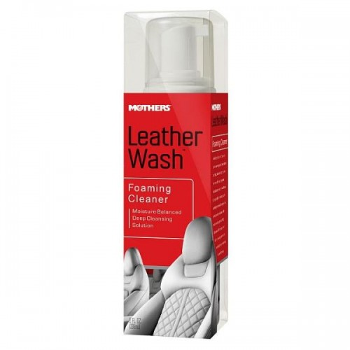 Mothers Leather Tech Foaming Wash-Cleaner ( Deri Temizleme Köpüğü ) 236 ml