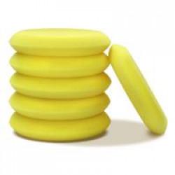 Magic 10cm Sarı Cila ve Wax El Uygulama Pedi -  6'lı Paket
