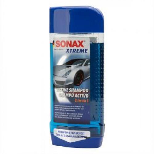 SONAX Xtreme ACTIVE SHAMPOO –  Xtrem Süper Aktif Konsantre Şampuan 500 ml..