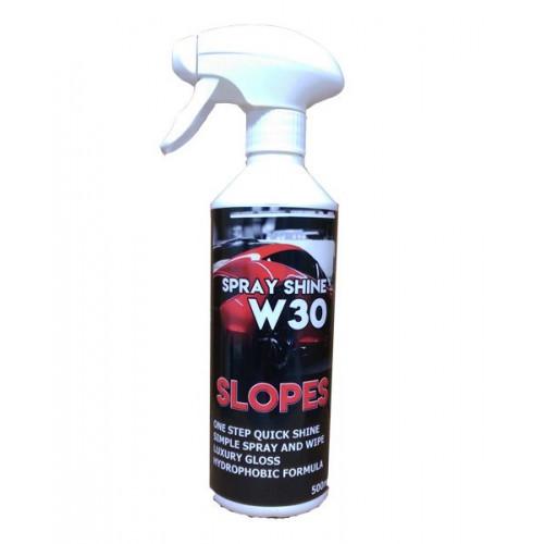 Slopes W30 Spray Shine Hızlı Cila 500ml