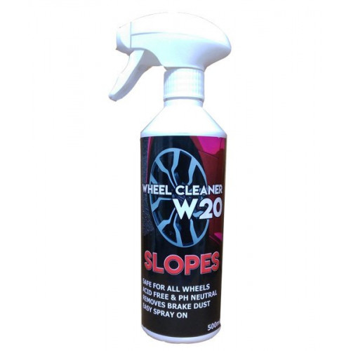 Slopes W20 Wheel Cleaner Jant Temizleme Spreyi 500ml