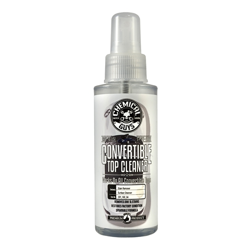 Chemical Guys Convertible Top Cleaner Cabrio Tente Temizle 0.12ml