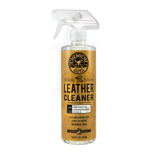 Chemical Guys Leather Cleaner - Hassas Deri Temizleme ( 473ml )