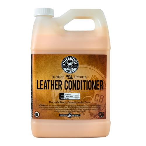 Chemical Guys Leather Conditioner -  Deri Kokulu Deri Bakım Sütü GLN - 3,78 litre