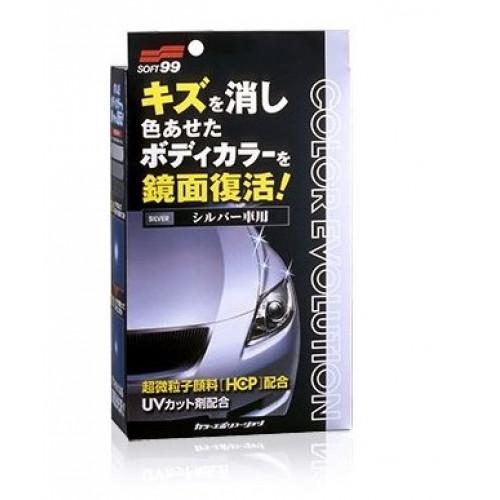 Soft99 Color Evolution SILVER - Gümüş Renk Araçlar İçin Renkli Cila Seti - 100ml