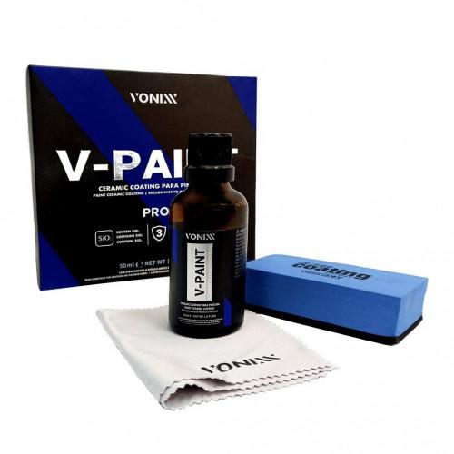 Vonixx V-PAINT PRO Ceramic Coating –  PRO Seramik Kaplama Kiti 50ml