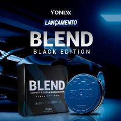 Vonixx Blend Black Edition Ceramic & Carnauba Wax – Siyah ve Koyu Renkli Araçlar için Seramikli Carnauba Wax - 100 ml + Uygulama Aplikatörü