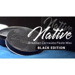 Vonixx Native Black Edition Carnauba  Wax – Siyah ve Koyu Renkli Araçlara İçin Özel Üretim Carnauba Katı Wax  -100ml + Uygulama Pedi