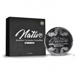 Vonixx Native Carnauba Wax – Özel Üretim Carnauba Katı Wax - 100ml + Uygulama Pedi