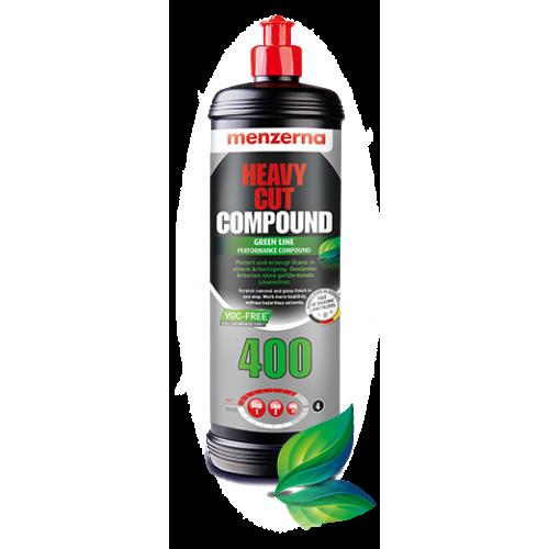 Menzerna 400 Yeşil Seri Fast Gloss Çizik Çıkarıcı Pasta - Green Line - 1 LT