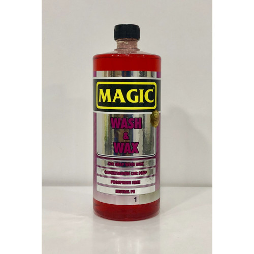 Magic Wash & Wax - Cilalı Araç Yıkama Şampuanı 1/128 - 1000ml