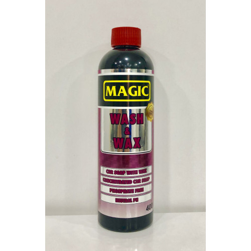 Magic Wash & Wax - Cilalı Araç Yıkama Şampuanı 1/128 - 400ml
