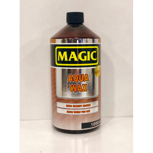 Magic AQUA Wax - Islak Kullanım Hızlı Cila & KONSANTRE ( 1:10 )  - 1000 ml