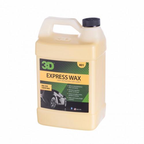 BÖLÜNMÜŞ ÜRÜN 3D Express Wax - Hızlı Cila 400ml